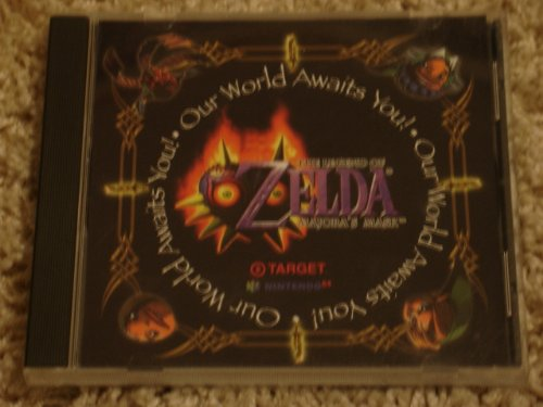 Legend of Zelda Majora's Mask Target/Ninpro Promotional Soundtrack CD