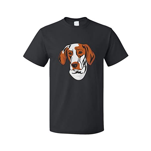Custom Funny Graphic T Shirts for Men Ariege Pointer Head Cotton Top 1