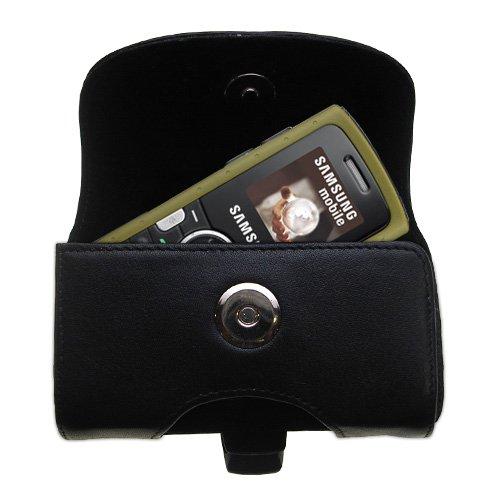 Black+Leather+Case+for+Samsung+SGH-M110