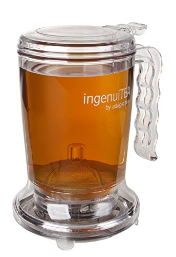 Cherry Design Colander - Adagio Teas 16 oz. ingenuiTEA Bottom-Dispensing Teapot