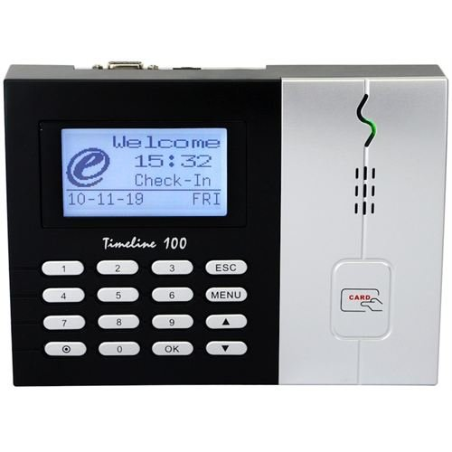FingerTec USA Timeline 100 FingerTec Time Attendance RFID Time Clock