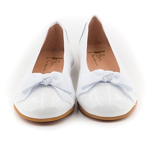 Boni Isaure - Ballerinas Mädchen Weiß