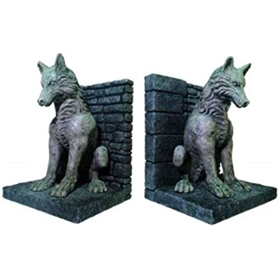 game-of-thrones-dire-wolf-bookends