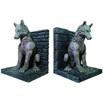 Game of Thrones: Dire Wolf Bookends