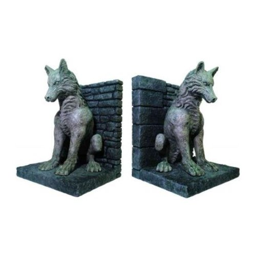 Game of Thrones: Dire Wolf Bookends by Dark Horse Deluxe