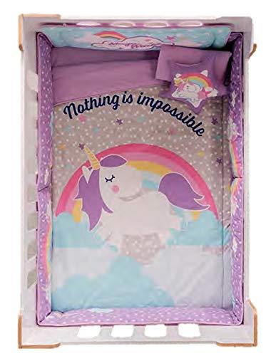 Moon GIRL Pink CRIB SET Bedding Comforter BABY Shower Gift Nursery 100/% COTTON