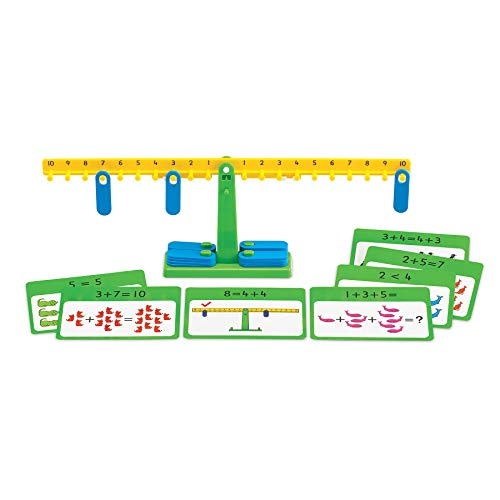 edx Education Number Balance Activity Set - Math Balance - Counting Toy - Learn Addition, Subtraction and Multiplication