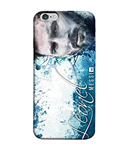 ColorKing Football messi Argentina 07 Multicolor shell case cover for Apple iphone 6 / 6s