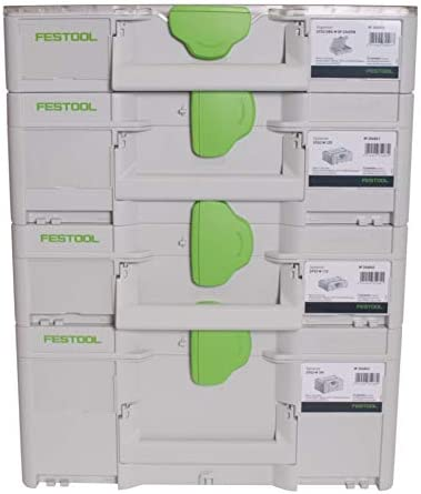 + SYS3 ORG M 89 Organzier 204853 + SYS3 M 137 + SYS3 M 187 204841 204842 204840 Festool Systainer Set SYS3 M 112 koppelbar