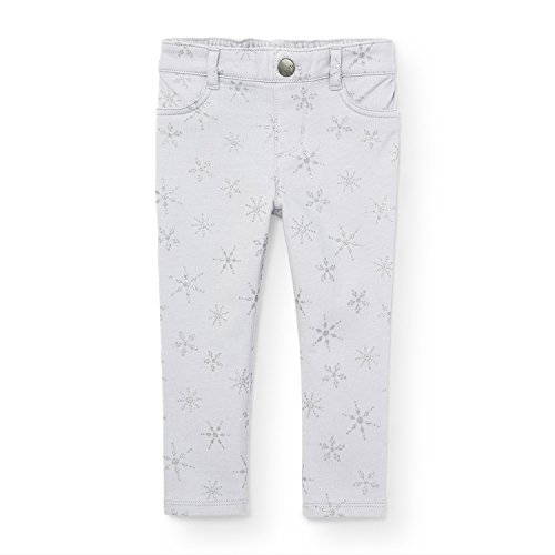 The Children's Place Baby Girls Snow Print Jegging, Ice Cave 89900, 3 Años