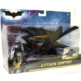 Knight Attack Dark Bat (Batman Attack Copter Personal Attack Helicopter)