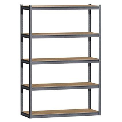 Gorilla Rack GRZ8460 5 5 Shelf 48 By 18 By
