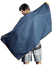 Microfiber Beach Towel-Quick Fast Dry Super Bath Towels Absorbent Lightweight Pool Beach Blanket , Ultra Compact Perfect for Travel Pool Swimming Bath Camping Yoga Gym Sports