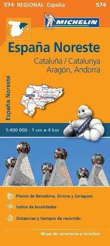 Mapa Regional Cataluña,/Catalunya, Aragón, Andorra Carte regionali ...
