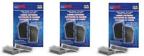 (Lee's Premium Carbon Cartridge, Disposable, 6 Pack)