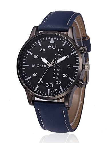 6ed754d26c7 Mens Leather Watch