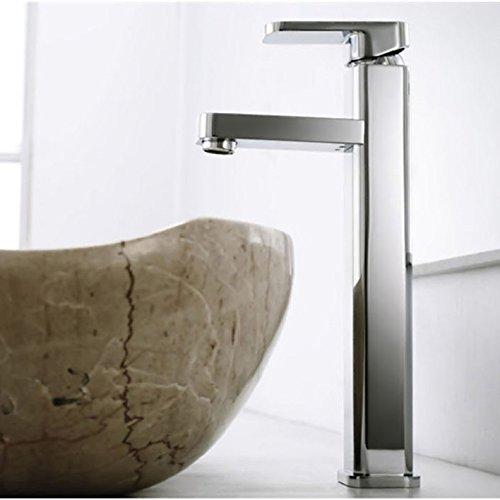 SHLONG Basin washbasin Faucet zinc Alloy hot and Cold Single Handle Single Hole Square Mixer