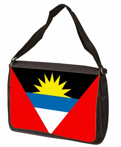 Antigua And Barbuda Flag Messenger Bag - Shoulder Bag - Laptop Bag
