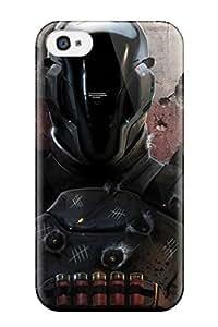 Iphone 4/4s Case Bumper Tpu Skin Cover For Warrior Sci Fi People Sci Fi Accessories