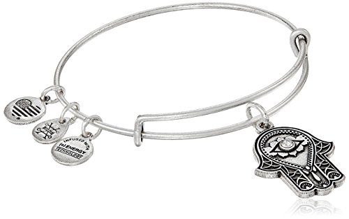 - Alex and Ani Hand of Fatima III Bangle Bracelet, Rafaelian Silver, Expandable