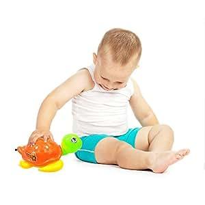 Amazon.com: Kids Empuje Tire Juguetes cordón tortuga ...