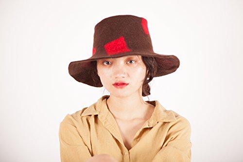 Cappello Di Cappelli Feltro Invernale Signore Donna xgX4gqp