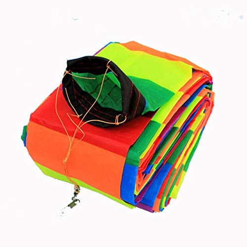 FairOnly Professional Kite Kite Accessories /10-30m Rainbow 3D /Tube Tail for Delta Kite/Stunt/Software Kites Kids Gift 30m ()