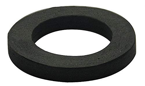 Sponge Rubber Wax-Free Seal, Black, For Use With 3'' OD Urinals by GRAINGER APPROVED (Image #1)