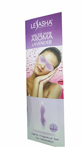 2 Packs of Mini Eye Mask Aroma Lavender. Lightly Fragrance Gel For Relaxation from Lesasha, Innovation In Trend. Reusable & Comfortable. (1 patch/ pack)