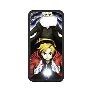 FULLMETAL ALCHEMIST Samsung Galaxy S6 Cell Phone Case White G6837551