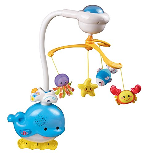 VTech Baby Soothing Ocean Slumbers Mobile (Baby Mobile Projection)
