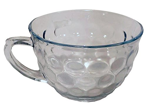 Clear Bubble Depression Cup