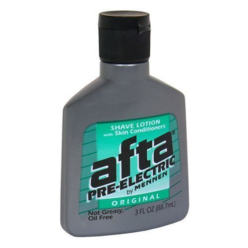Afta Pre-Electric Shave Lotion With Skin Conditioners Original 3 oz (6...