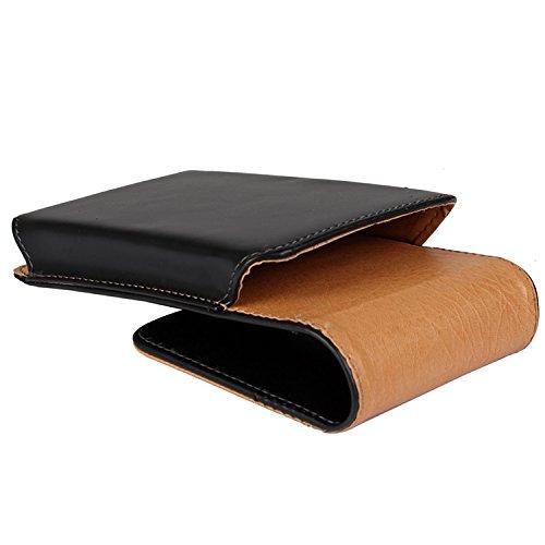 Holster für Apple iPhone 6 Plus, Gürteltasche, schwarz. Handytasche Schutz Hülle Case Seitentasche Vertikaltasche Schutzhülle (Wir zahlen Steuern in Deutschland!)