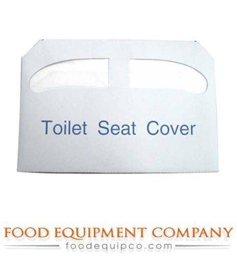 Winco TSC-250 Toilet Seat Cover Paper half fold - Case of 20