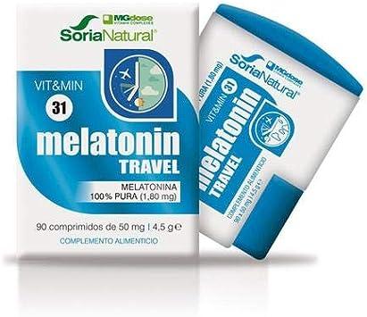 Melatonina Travel 90 Comprimidos de Mgdose: Amazon.es: Salud y ...