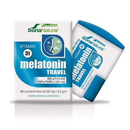 Melatonina Travel 90 Comprimidos de Mgdose: Amazon.es: Salud y ...