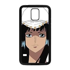 Stylish One Piece Design Samsung Galaxy S5 Cell Phone Case Funda negro 129