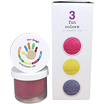 eco-kids Art Dough/Clay, 3 Piece