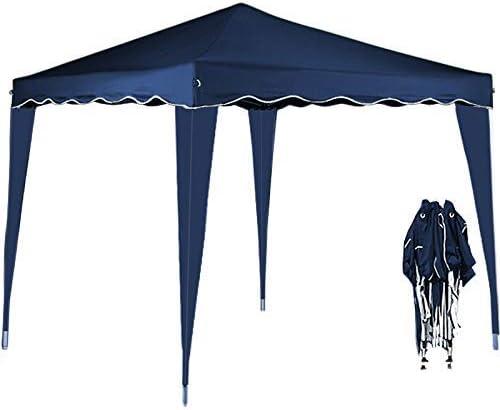 HI Faltpavillon 3x3m blau Pavillon faltbar Partyzelt