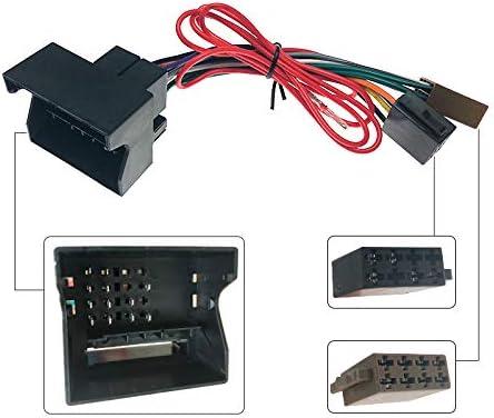 FEELDO Cable de arn/és de cableado de audio est/éreo ISO para Peugeot 207 307 307CC 407 para Citroen C2 C5 antena de radio adaptador de cable
