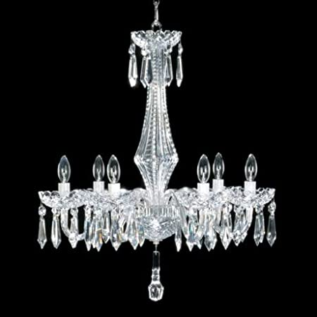 Waterford chandeliers adare 6 arm chandelier 240v amazon waterford chandeliers adare 6 arm chandelier 240v aloadofball Images