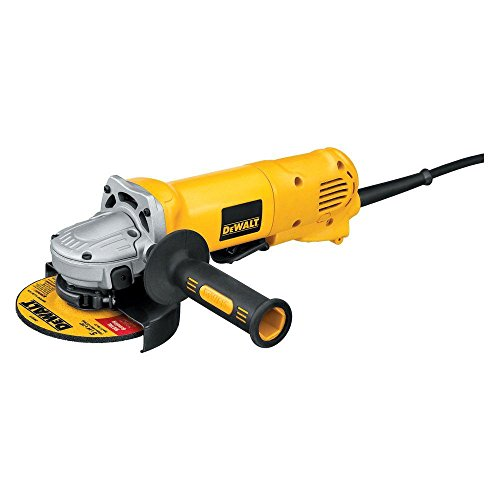 DEWALT D28402W 4 1/2-Inch 10 AMP Small Angle Grinder with Wheel