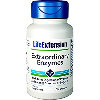 Amazon.com: Life Extension Enhanced Super Digestive Enzyme ...