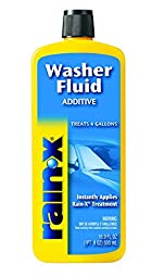 Windshield Washer Rain Repellent Additive 16.9 Oz (Pack of 6)