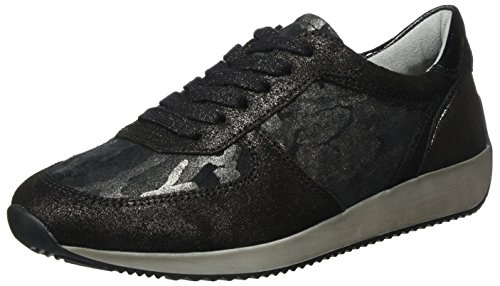 Ara Lava Schwarz Donna Lissabon Sneaker schwarz XnqT0XFr