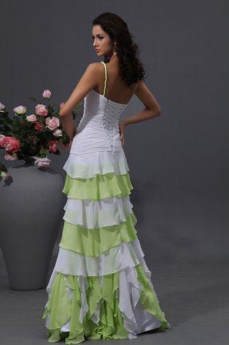 Capas Bridal One Volantes Mujer Colorido Vestidos Winey Shoulder Noche De Prom nPTqHwnX