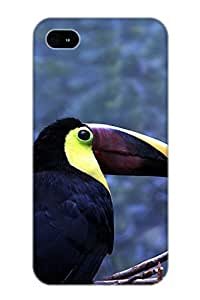 Armandcaron Xjshqc-4499-wtqmmcx Case Cover Iphone 4/4s Protective Case Animal Toucan( Best Gift For Friends)