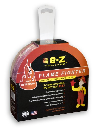 E-Z Taping System 99251 250-Feet x 1.89-Inch Flame Fighter Fire Retardant Drywall Finishing Tape, 1-Pack