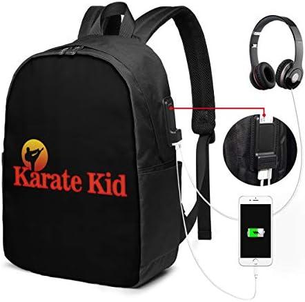 ビジネスリュック ベストキッド THE KARATE KID メンズバックパック 手提げ リュック バックパックリュック 通勤 出張 大容量 イヤホンポート USB充電ポート付き 防水 PC収納 通勤 出張 旅行 通学 男女兼用